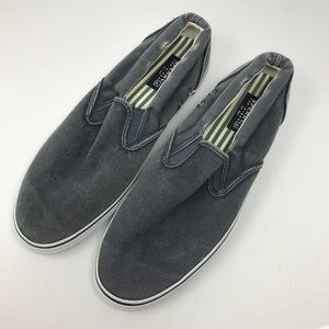 Sperry Top Sider Slip On 13 Shoes Denim Look